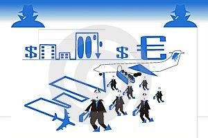Financial Crisis Royalty Free Stock Photos - Image: 8140678