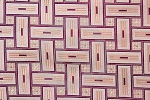 Beige Checked Silk Necktie Stock Photos - Image: 8141103