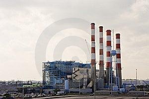 Industry And Smokestacks Royalty Free Stock Photos - Image: 8141518