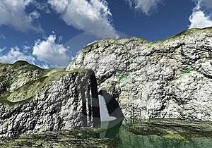 Waterfall Stock Photo - Image: 8142370