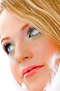Close Up Of Beautiful Young Woman Royalty Free Stock Images - Image: 8142389