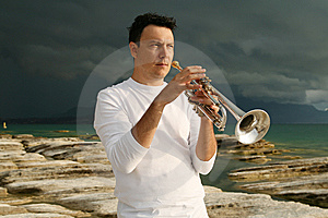 Trumpet Royalty Free Stock Images - Image: 8143139