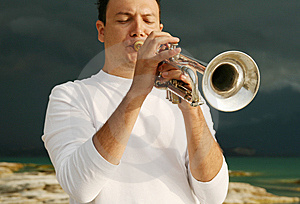 Trumpet Stock Photography - Image: 8143562