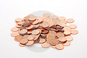 Pile Of Pennies Royalty Free Stock Images - Image: 8144419