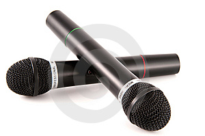 Microphones Royalty Free Stock Photos - Image: 8145538