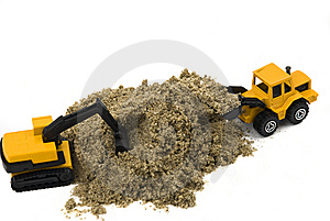 Trucks Toy Royalty Free Stock Images - Image: 8145679