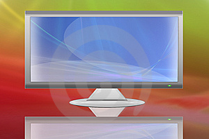 TV LCD Flat Screen (12) Royalty Free Stock Photos - Image: 8146458