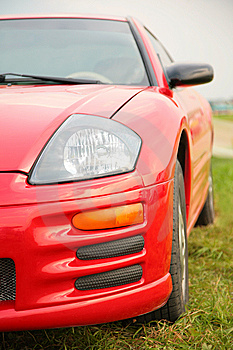 Red Sport Car. Stock Images - Image: 8147304