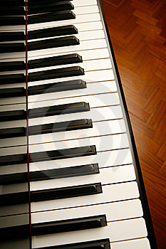 Piano Keys Royalty Free Stock Photography - Image: 8147977