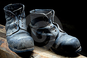 Old Boots Royalty Free Stock Photo - Image: 8148005