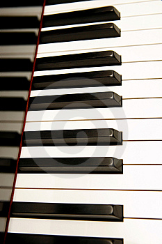 Piano Keyboard Stock Image - Image: 8148011