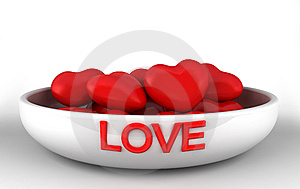 Bowl Of Love Royalty Free Stock Photography - Image: 8148167