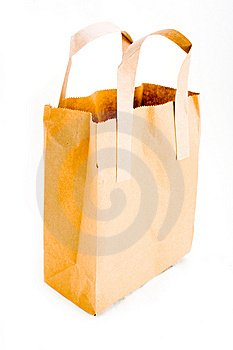 Brown Paper Bag Stock Photo - Image: 8148230