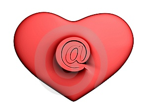 Heart With Mail Stock Photography - Image: 8148832