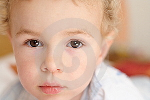 Toddler Staing At The Camera Stock Photos - Image: 8149133