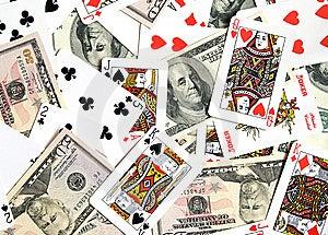 Cards, Money... Royalty Free Stock Image - Image: 8149266