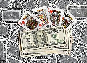 Cards, Money... Royalty Free Stock Image - Image: 8149366