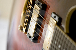 Close Up Of Electric Guitar Royalty Free Stock Photography - Image: 8149847
