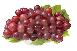 Red Grapes Stock Photo - Image: 8150320