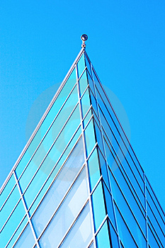 Building Detail Of Glass And Steel Stock Image - Image: 8150501
