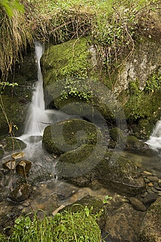 Waterfall Stock Photo - Image: 8151250