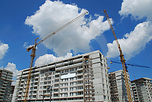 Cranes Royalty Free Stock Photography - Image: 8151547