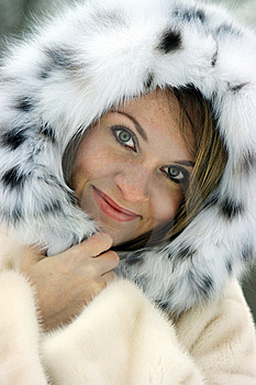 Lady In Fur Stock Photos - Image: 8151583