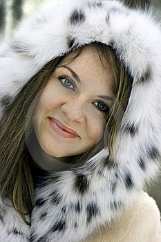 Lady In Fur Stock Photos - Image: 8151673