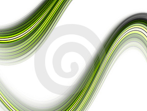 Green Wave Background Royalty Free Stock Image - Image: 8152136