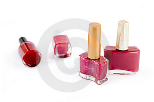 Nail Polish Royalty Free Stock Photos - Image: 8152898