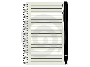 Note Pad Royalty Free Stock Image - Image: 8152946