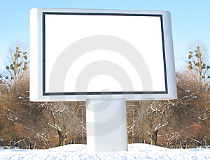 Billboard Royalty Free Stock Photo - Image: 8153245