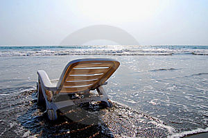 Sunbed Royalty Free Stock Photography - Image: 8154787