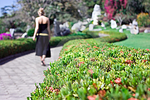 Lonely Girl Walking Royalty Free Stock Photography - Image: 8157417