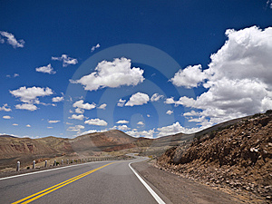 Curves Ahead Royalty Free Stock Photos - Image: 8158728