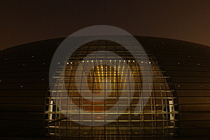 National Grand Theater Stock Image - Image: 8159581