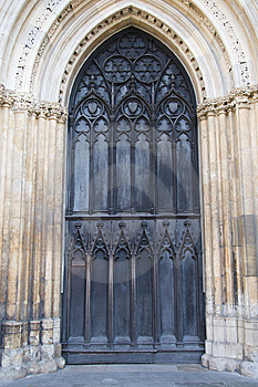 Ornate Door Royalty Free Stock Images - Image: 8159889