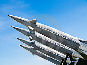 Anti-aircraft Rockets Stock Photos - Image: 8160103