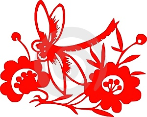 Chinese Paper-cut Royalty Free Stock Images - Image: 8161349