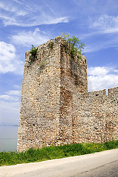 Tower Of Ancient Fortification Royalty Free Stock Photo - Image: 8162765