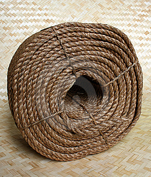 Rope Coil Stock Photography - Image: 8162842