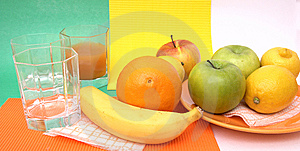 Fresh Seasonal Fruit Royalty Free Stock Photo - Image: 8163365