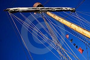 Main Mast Caravel Royalty Free Stock Photos - Image: 8163978