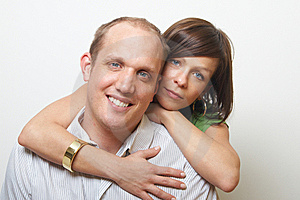 Cute Couple Royalty Free Stock Photography - Image: 8164337