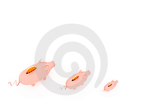 Piggy Bank Royalty Free Stock Images - Image: 8164969
