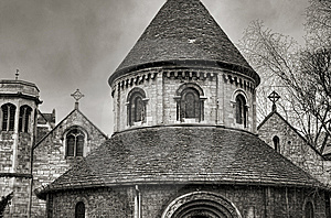 The Round Church Royalty Free Stock Photography - Image: 8166617