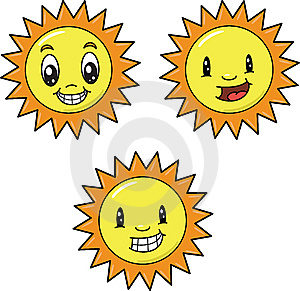Variety Of Suns Stock Image - Image: 8167851