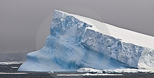 Antarctic Iceberg - Tilted Royalty Free Stock Images - Image: 8169289