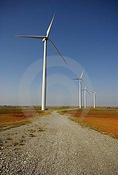 Road To Greener Power Royalty Free Stock Photos - Image: 8169558