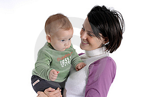 Mom And Little Baby Boy Stock Photography - Image: 8170182